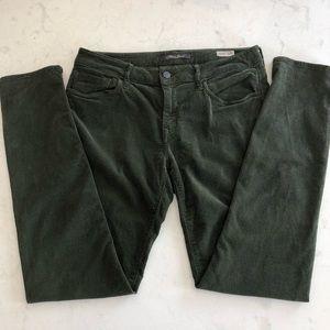 Mavi Jeans Alexa Mid-Rise Skinny Corduroy Green